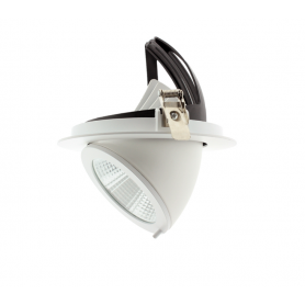 Foco Downlight LED circular basculante 15W Ø130mm