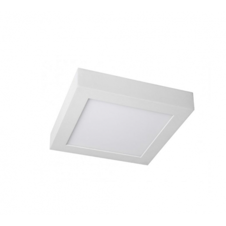 Plafón LED Superficie Cuadrado 24W 300x300mm