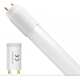 Tubo de LED T8 600 mm 9W Cristal ADVANCE con STARTER