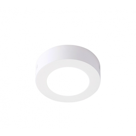Plafón LED Superficie circular 6W Ø120mm