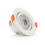 Foco downlight LED Cob Orientable 7W Ø85mm