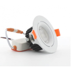 Foco downlight LED Cob Orientable 10W Ø90mm