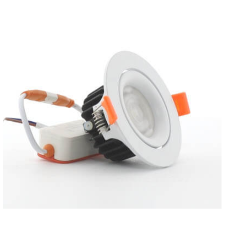 Foco downlight LED Cob Orientable 20W Ø140mm
