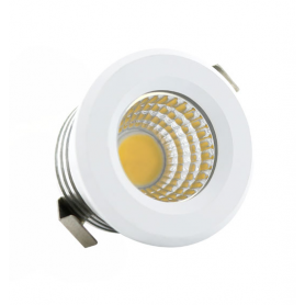 Foco downlight LED Mini Circular 3W Ø40mm 24º