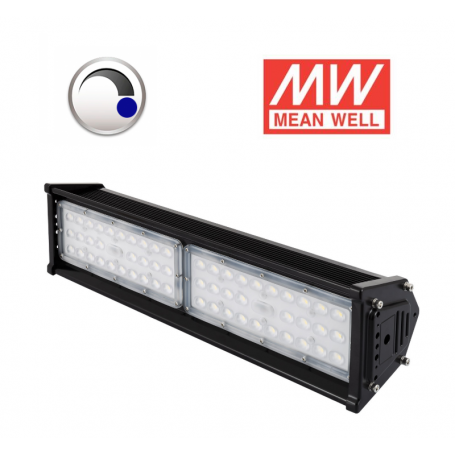 Campana Lineal Regulable SMD 90W LUMILEDS driver MEANWELL