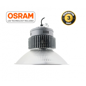 Campana LED OSRAM SMD 120º 200W 6000K, Industrialed