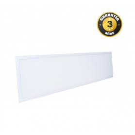 Panel LED 120X60 cm Marco Blanco 80W. Industrialed