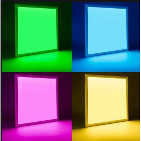 Panel LED 60X60 cm Marco Blanco 40W RGB
