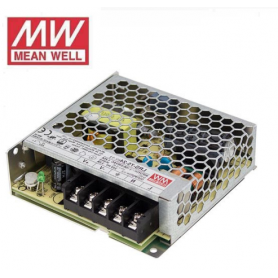 Fuente de alimentación para tiras LED 75W 12VDC Mean Well