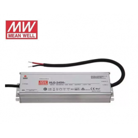 Fuente de alimentación para tiras LED Mean Well 240W 24VDC IP67
