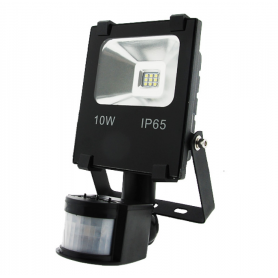Foco proyector LED SMD Maseru con detector 10W