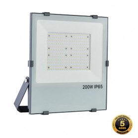 Foco proyector LED SMD GRAFITO 200W APERTURA 90º, Industrialed