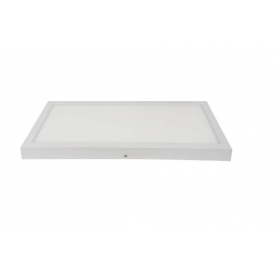 Panel LED 60X30 cm Marco Blanco Superficie 24W