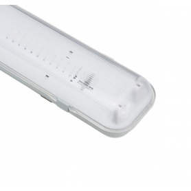 Pantalla Estanca para dos tubos LED 600 mm